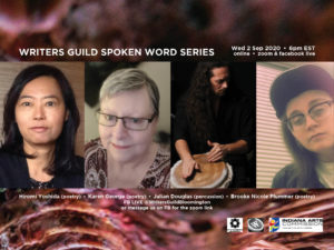 First Wednesday Spoken Word Series  virtual version