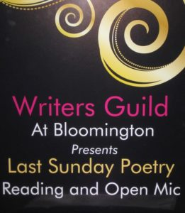 Last Sunday Poetry Reading & Open Mic  Live and In-Person!